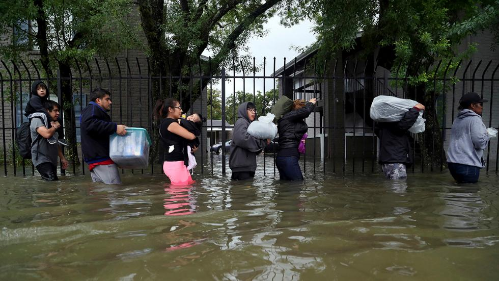 Tropical Storm Harvey- AP Photo