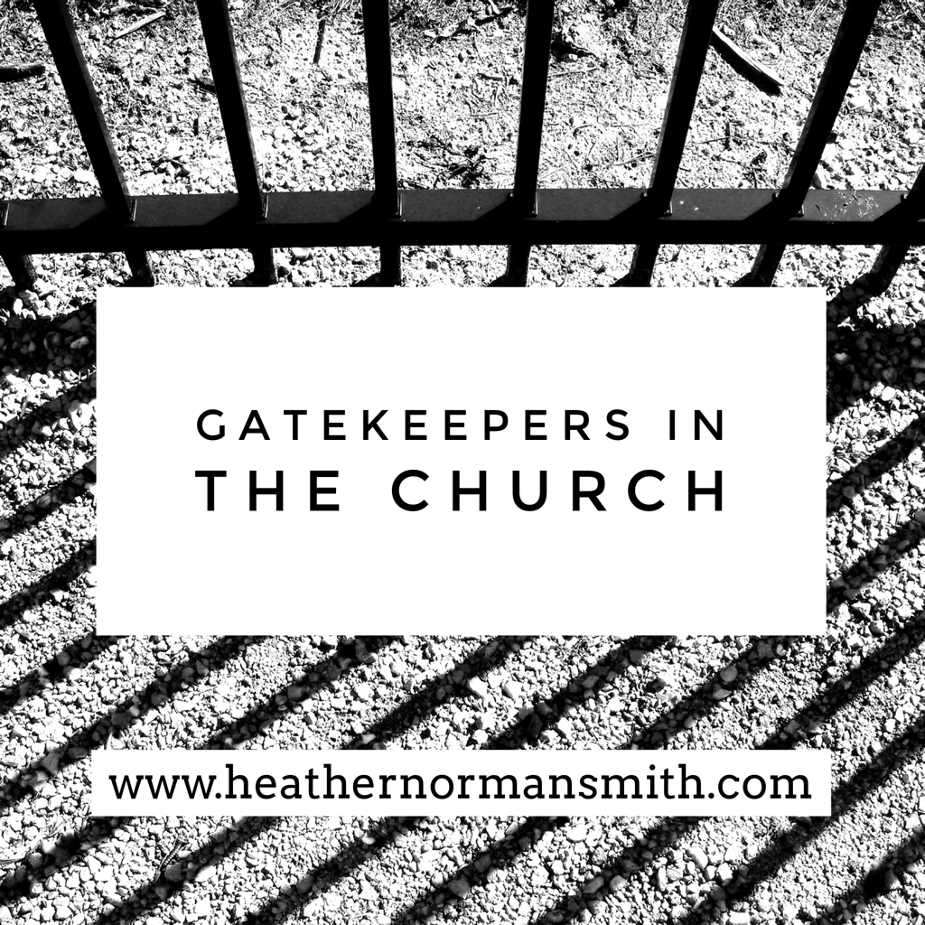 Gatekeepers in the Church