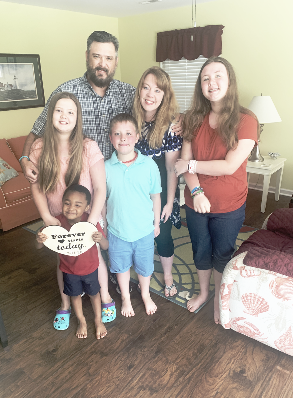 Our Adoption Story by Heather Norman Smith